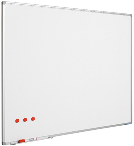 Whiteboard Smit Visual Softline 120x240cm email staal
