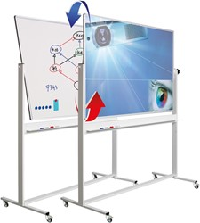 Kantelbord Smit Visual 13009.124 combi email/projectiestaal 120x200cm