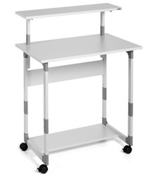 Computer trolley Durable 80 VH grijs