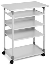 Computer trolley Durable 75 VH grijs
