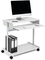 Computer trolley Durable workstation standard grijs