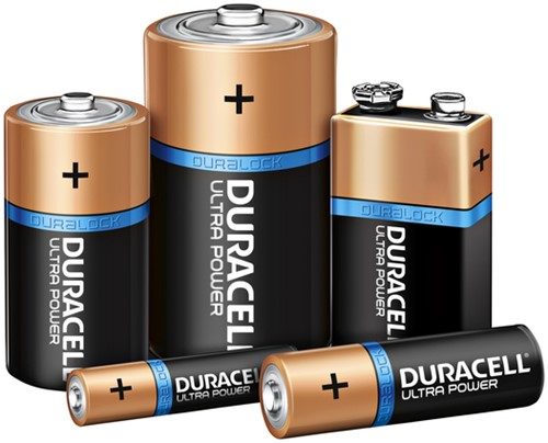 Batterij Duracell Ultra Power 1x9Volt MX1604-2