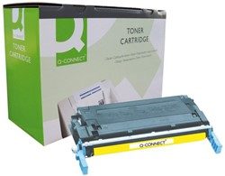 Tonercartridge Q-Connect HP C9722A 641A geel