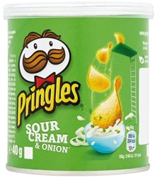 Chips pringles sour and onion 40gr