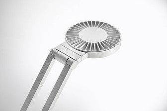 Bureaulamp Luctra Radial Table Pro met voet wit-2